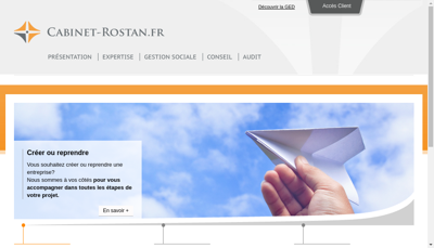 Capture d'écran du site de Cabinet H Lombard Societe Fiduc Sav Compta