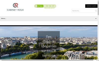 Site internet de Cabinet Roux