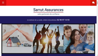 Site internet de Sarrut Assurances