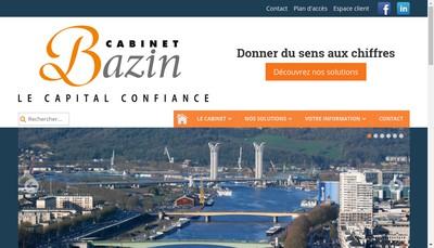 Site internet de Cabinet Bazin