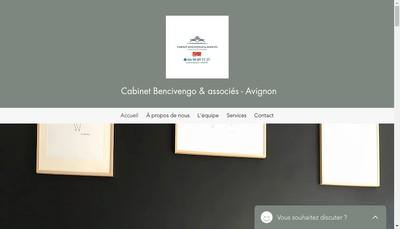 Site internet de Bencivengo et Associes Avignon