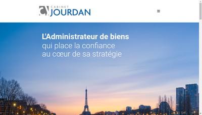 Site internet de Cabinet Jourdan