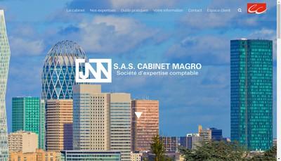 Site internet de SAS Cabinet Magro