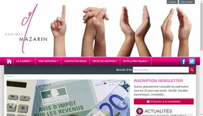 Site internet de Cabinet Mazarin