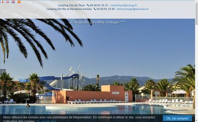Site internet de SAS Del Mar Village
