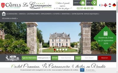 Site internet de Les Reflets de la Garangeoire