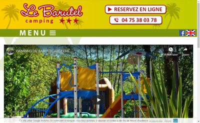 Site internet de Camping le Barutel