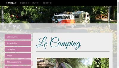 Site internet de Camping Olivet