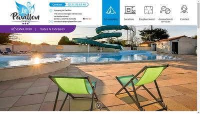Site internet de Le Pavillon
