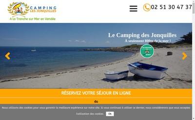 Site internet de Les Jonquilles