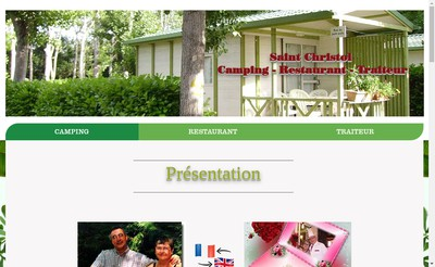 Site internet de Camping Saint Christol