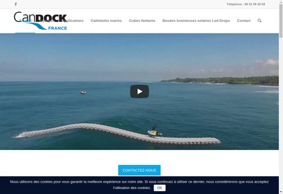 Site internet de Plateforme flottante - Candock France