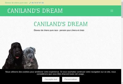 Site internet de Caniland
