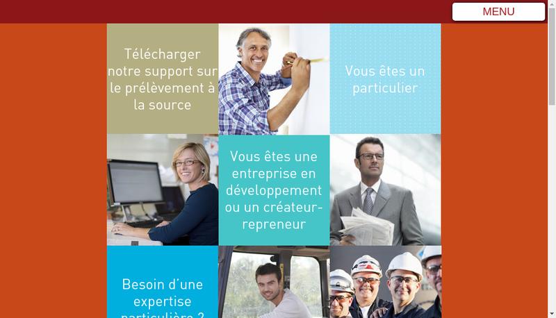 Capture d'écran du site de CAPEC