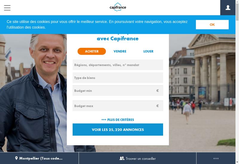 Capture d'écran du site de Sylvie Guicherd