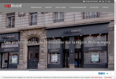 Site internet de Capinvest