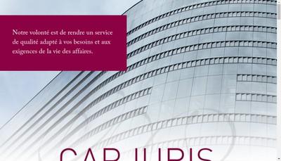 Site internet de Cap Juris