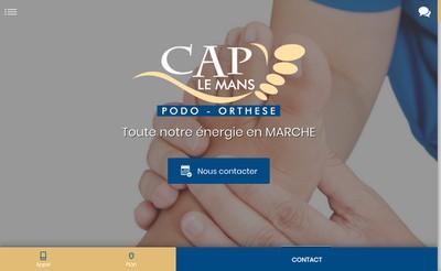 Site internet de Cap le Mans