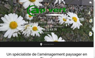 Site internet de Cap Vert