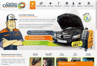 Site internet de Carbon Cleaning