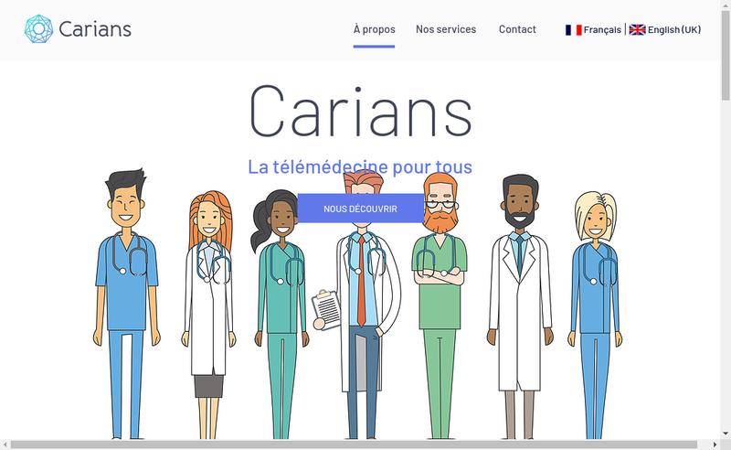 Capture d'écran du site de Deuxiemeavis