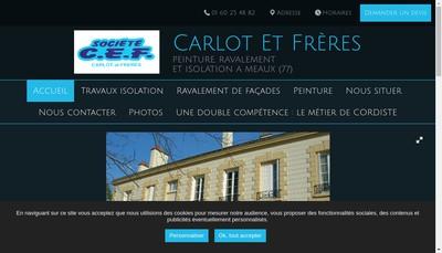 Site internet de Carlot et Freres