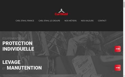 Site internet de Carl Stahl SARL
