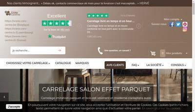 Site internet de Caro Centre