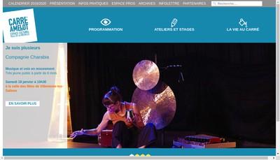 Site internet de Carre Amelot