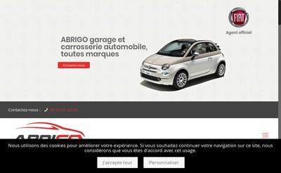 Site internet de Garage Abrigo