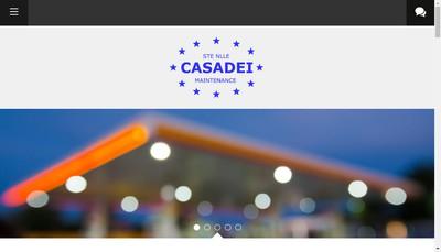 Site internet de Soc Nouvelle Casadei Maintenance