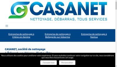 Site internet de Casanet