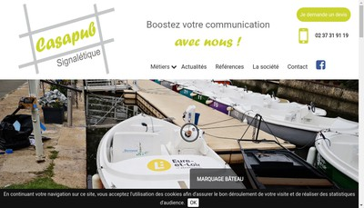 Site internet de Casapub
