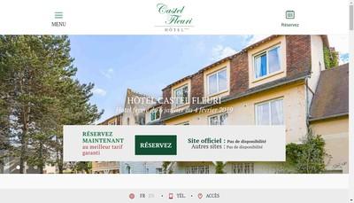 Site internet de Castel Fleuri