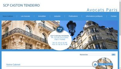 Site internet de SCP Caston Tendeiro