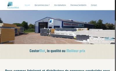 Site internet de Castormat