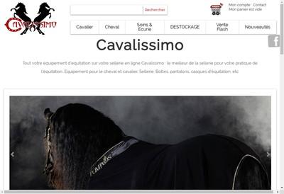 Site internet de Cavalissimo