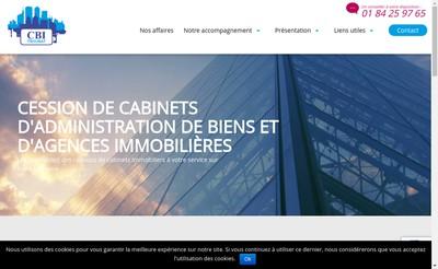 Site internet de CBI Troubat