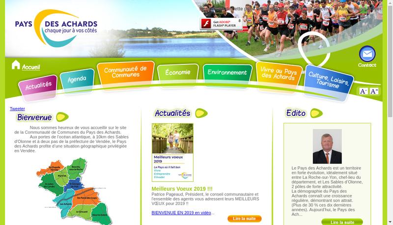Capture d'écran du site de Touzeau et Deco