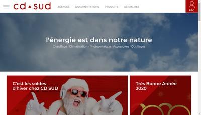 Site internet de CD Sud