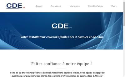 Site internet de CDE Ou Prolutech