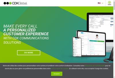 Site internet de Cdk Global (France)