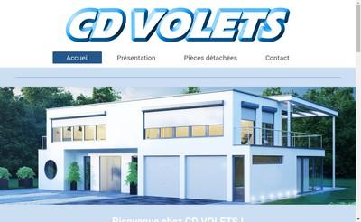 Site internet de CD Volets