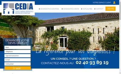 Site internet de Cedia