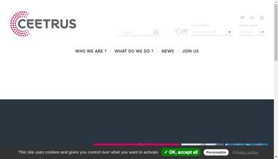 Site internet de Ceetrus