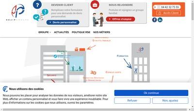 Site internet de Cejip Multi Pro