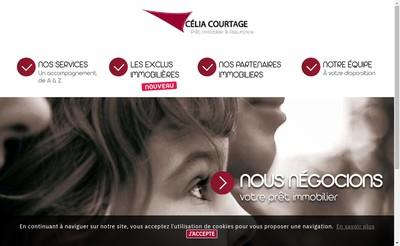 Site internet de Celia Courtage