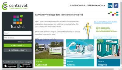 Site internet de Centravet