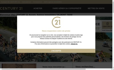 Site internet de Accore