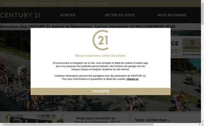 Site internet de Eole Immobilier